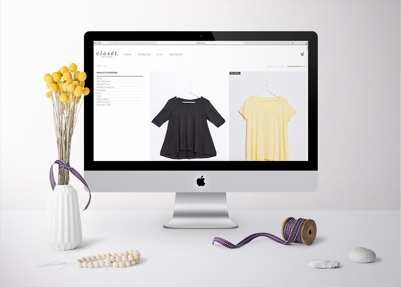 litl | closet - website & ecommerce